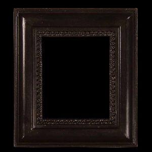 black antique picture frames